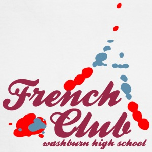 French Club washburn high school Design Placement - Men's Long Sleeve T-Shirt