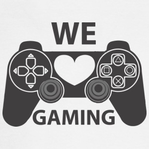 we love gaming - Men's Long Sleeve T-Shirt