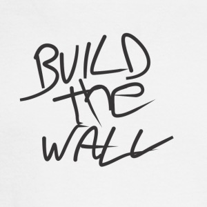 Build the wall - Men's Long Sleeve T-Shirt