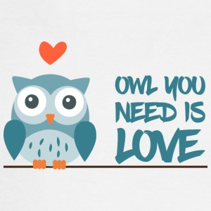 Owl you need is love - Men's Long Sleeve T-Shirt