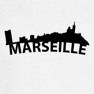 Arc Skyline Of Marseille France - Men's Long Sleeve T-Shirt