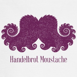 Handelbrot Mustache - Men's Long Sleeve T-Shirt