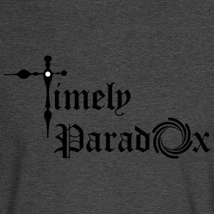 Timely Paradox - Men's Long Sleeve T-Shirt
