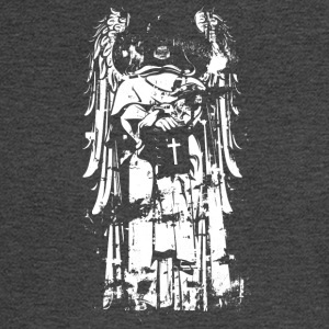 ANGEL_WITH_CROSS - Men's Long Sleeve T-Shirt