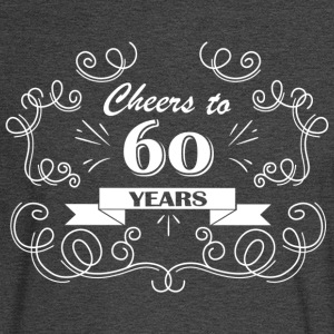 Cheers to 60 years - Men's Long Sleeve T-Shirt