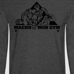 Macho mon Gym - Men's Long Sleeve T-Shirt