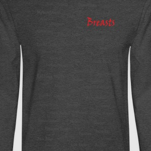 Breasts - Men's Long Sleeve T-Shirt