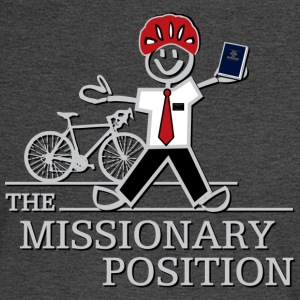 The Missionary Position (Dark) - Men's Long Sleeve T-Shirt
