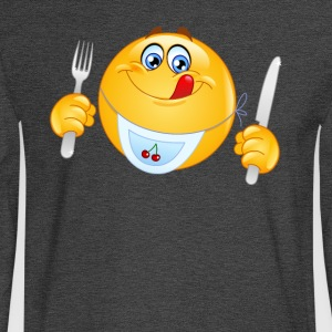 hungry icon - Men's Long Sleeve T-Shirt
