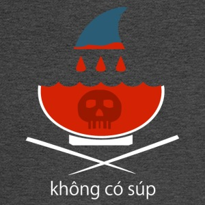 No Shark Fin Soup in Vietnamese - Men's Long Sleeve T-Shirt