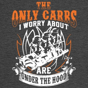 The Only Carbs I Worry About Are Under The Hood - Men's Long Sleeve T-Shirt