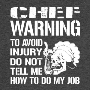 Chef Warning Job - Men's Long Sleeve T-Shirt