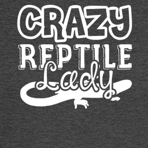 Crazy Reptile Lady Shirts - Men's Long Sleeve T-Shirt