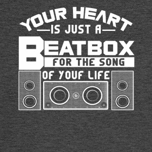 Your heat is just a beatbox Shirt - Men's Long Sleeve T-Shirt