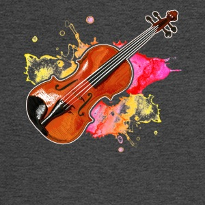 Violin Musical Instrument Tshirt - Men's Long Sleeve T-Shirt