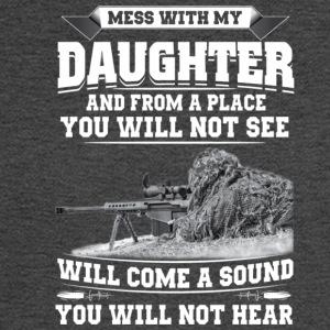 MESS WITH MY DAUGHTER - Men's Long Sleeve T-Shirt