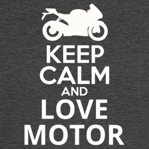 Keep Calm And Love Motor - Men's Long Sleeve T-Shirt