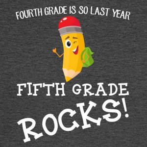 fourth grade is so last year, fifth grade Rocks! - Men's Long Sleeve T-Shirt