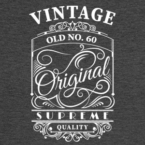 vintage old no 60 - Men's Long Sleeve T-Shirt