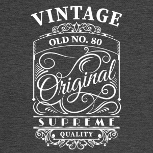 vintage old no 80 - Men's Long Sleeve T-Shirt
