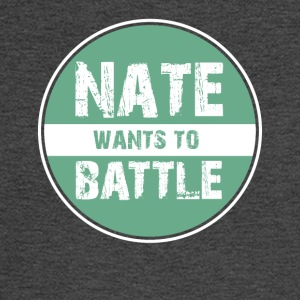 NateWantsToBattle - Men's Long Sleeve T-Shirt
