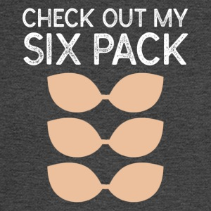 Check Out My Six Pack Bra - Men's Long Sleeve T-Shirt