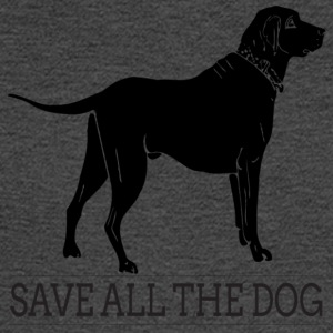 save all the dog - Men's Long Sleeve T-Shirt
