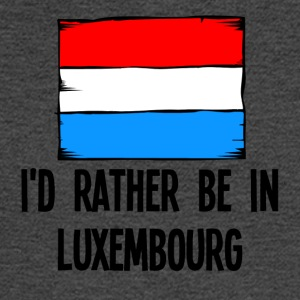 I'd Rather Be In Luxembourg - Men's Long Sleeve T-Shirt