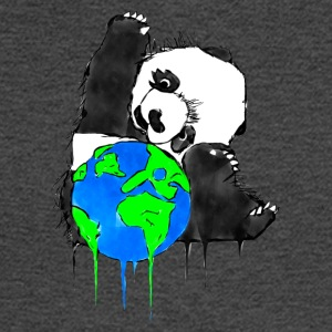 Earth Day Panda, Earth Bear - Men's Long Sleeve T-Shirt
