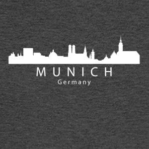Munich Germany Skyline - Men's Long Sleeve T-Shirt