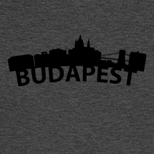 Arc Skyline Of Budapest Hungary - Men's Long Sleeve T-Shirt