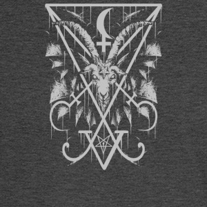 Sigil of Lucifer and Baphomet - Men's Long Sleeve T-Shirt