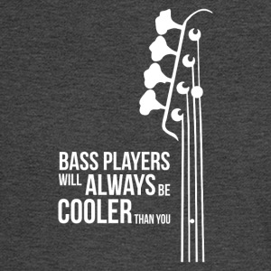 Bass Guitar Players Are Cool - Men's Long Sleeve T-Shirt