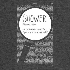 Shower funny definition - Men's Long Sleeve T-Shirt
