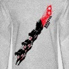 Quentin Tarantino The Hateful Eight | Blood Trails - Men's Long Sleeve T-Shirt