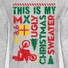 Motocross My Ugly Christmas Sweater - Men's Long Sleeve T-Shirt