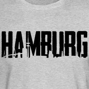 Hamburg City - Skyline - Men's Long Sleeve T-Shirt