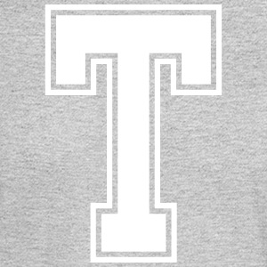 Letter T - Men's Long Sleeve T-Shirt