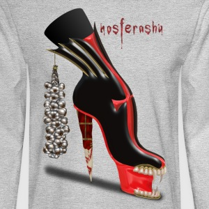 Nosferashu Vampire Shoe - Men's Long Sleeve T-Shirt