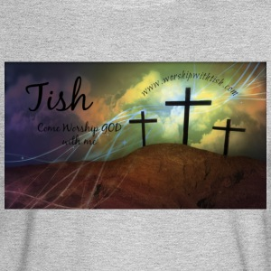 Tish Worship with me - Men's Long Sleeve T-Shirt