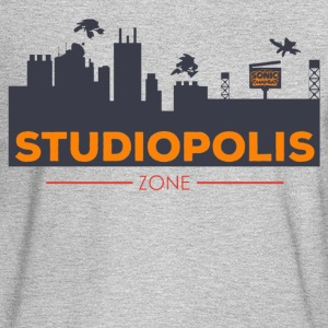 Official Sonic Mania Welcome to Studiopolis - Men's Long Sleeve T-Shirt