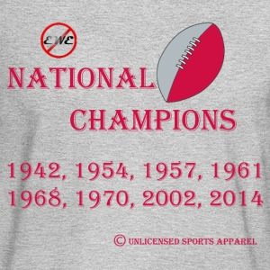 EWE-NO OB Football National Champions - Men's Long Sleeve T-Shirt