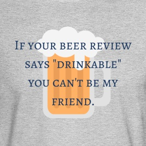 Bad Beer Review - Men's Long Sleeve T-Shirt