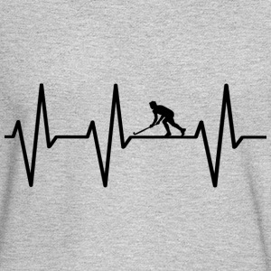My heart beats for hokey! gift - Men's Long Sleeve T-Shirt