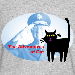 Cat Sees the Vet - Men's Long Sleeve T-Shirt