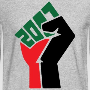 Black Power 2017 - Men's Long Sleeve T-Shirt