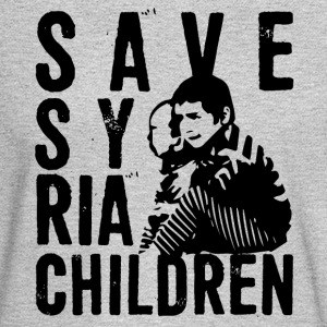 save syria children - Men's Long Sleeve T-Shirt