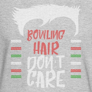 Ugly sweater christmas gift for Bowling - Men's Long Sleeve T-Shirt