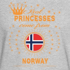 love princesses come from NORWAY - Men's Long Sleeve T-Shirt