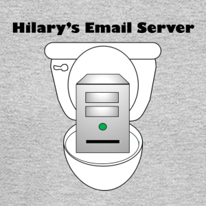 Hilary's Email Server - Men's Long Sleeve T-Shirt